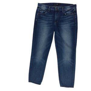 Joe's Jeans Slouched Slim Crop Beck Anne Wash Blue
